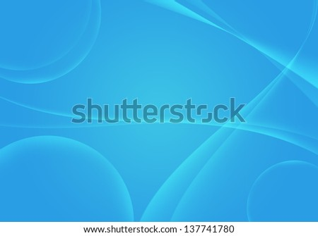 Light blue linear abstract background