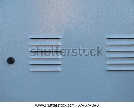 Light blue metallic background - stock photo