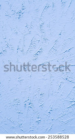 Light blue vintage wall texture for background
