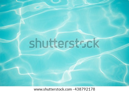 Light blue water pool texture background