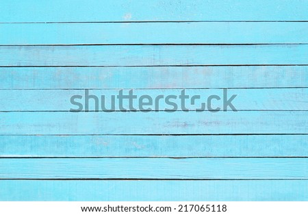Light blue Wood pattern, use for background. - stock photo