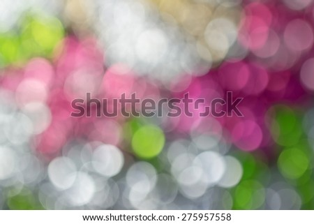 Light Blurred effect colorful corrugated glass abstract background texture and beautiful bokeh - stock photo