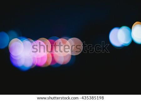 light bokeh background   - stock photo