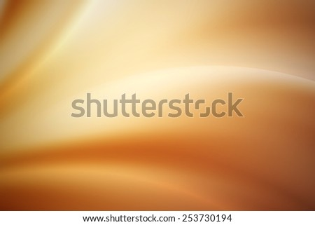 light brown curve abstract background - stock photo