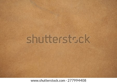 light brown leather - stock photo