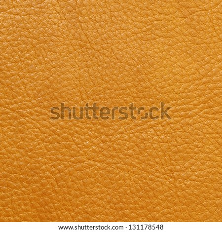 light brown  leather texture  background - stock photo