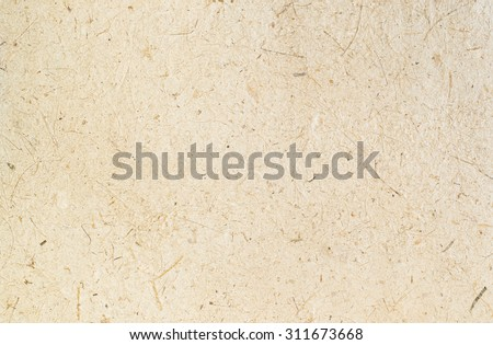 light brown rice mulberry flower rough paper petal and seed texture texture / recycle paper / craft or hand made / natural paper / eco friendly - stock photo