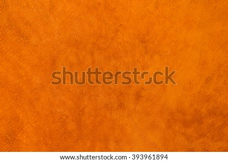 light brown/tan leather for background soft grunge texture - stock photo
