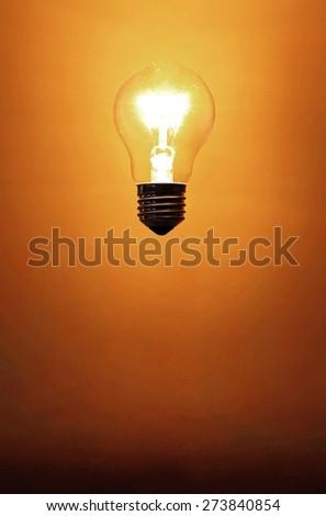 Light Bulb. Idea - stock photo