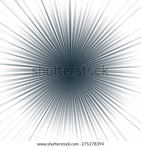 Light burst - stock photo
