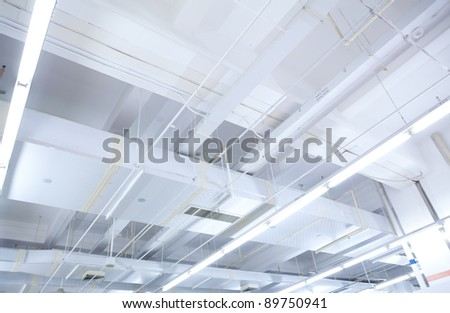 light Ceiling - stock photo