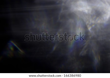 light flare special effect - stock photo