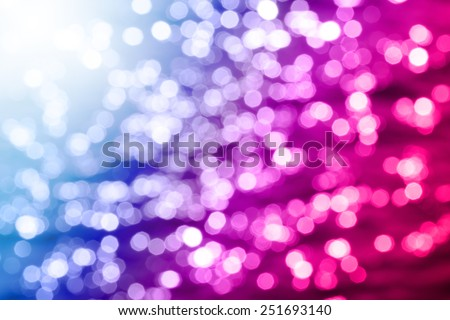 Light from bulb and the sun is beautiful bokeh for text or background - stock photo