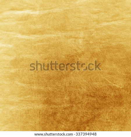 Light golden paper texture for background - stock photo
