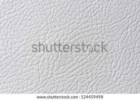 Light Gray Artificial Leather Texture - stock photo