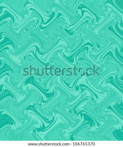 light green abstract background from yarn - stock photo