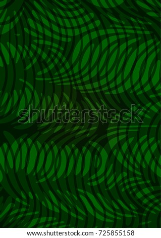 Light Green abstract doodle background. Modern geometrical abstract illustration with doodles. The elegant pattern can be used as a part of a brand book.