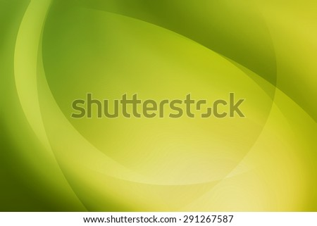 light green curve abstract background