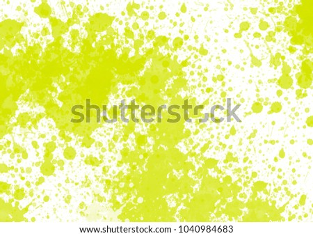 Light green water color graphic color brush strokes patches effect background