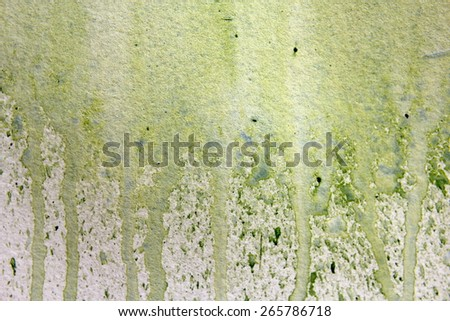 Light Green Watercolor Textures 1 - stock photo