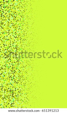 Light Green, Yellow abstract pattern with circles. Geometry template for your business design. Background with colored spheres.