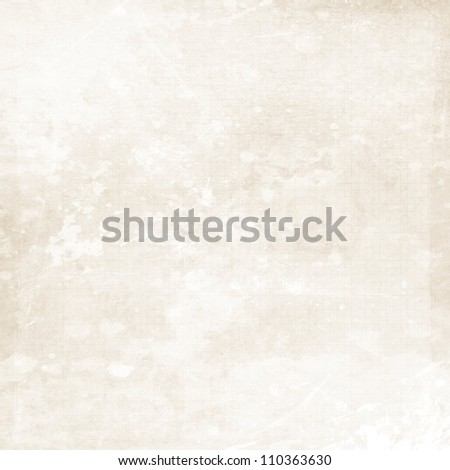light grunge background paper texture with paint splashes - stock photo