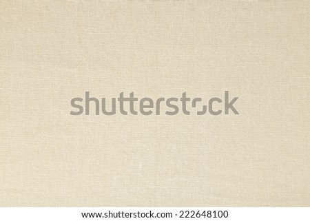 Light natural linen texture background - stock photo
