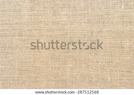 Light natural linen texture, for the background - stock photo