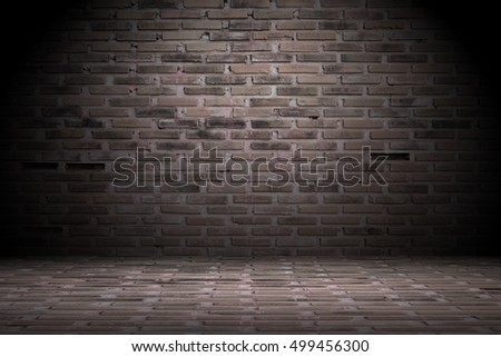 Light old brick wall background.