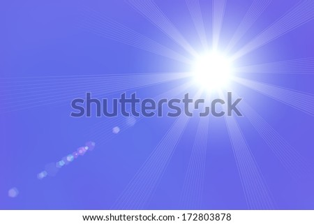 Light on a purple background, Light, Illustration