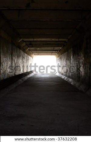 Light on the end of the tunnel