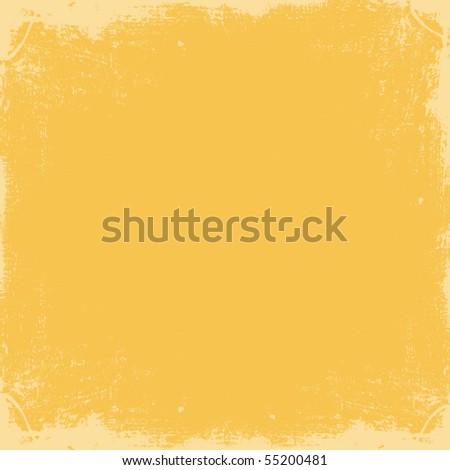 Light Orange Grungy Textured Background - stock photo