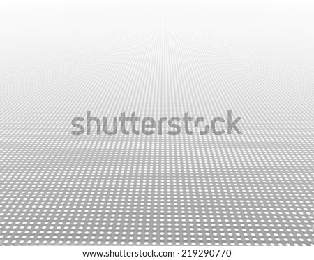 Light path to infinity. Pencil drawing  - stock photo