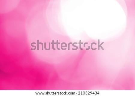 Light pink background beautiful bokeh - stock photo