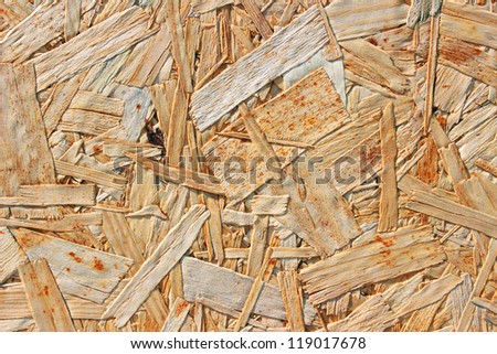 light plywood as background - stock photo