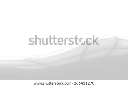Light Reflections on White and Grey Surface Background