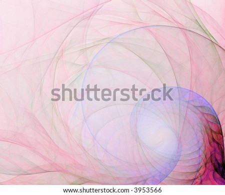 Light sheer spiral (computer generated, fractal abstract background)