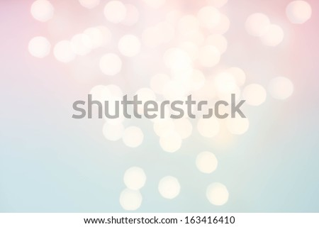 Light silver abstract Christmas background with twinkled magic holiday lights texture - stock photo