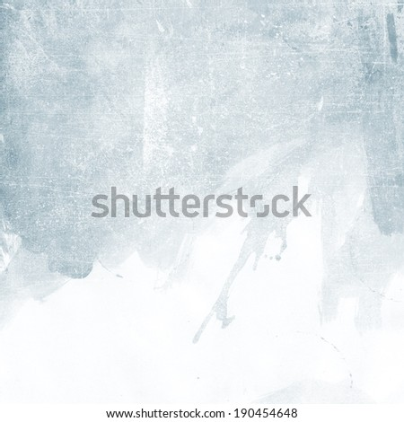 light silver blue grunge background texture paper - stock photo