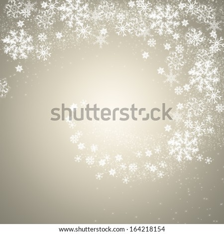 Light silver Christmas background