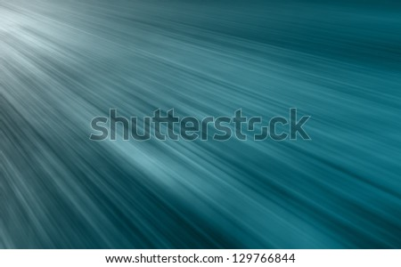 Light speeding cars - stock photo