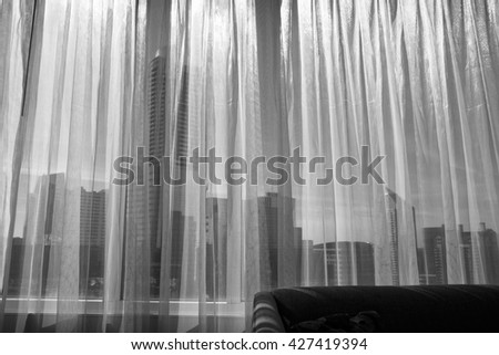 Curtains Ideas black sheer curtain : Sheer Curtains Stock Images, Royalty-Free Images & Vectors ...