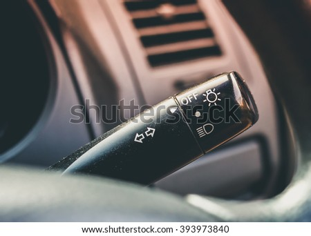 light toggle interior a modern car