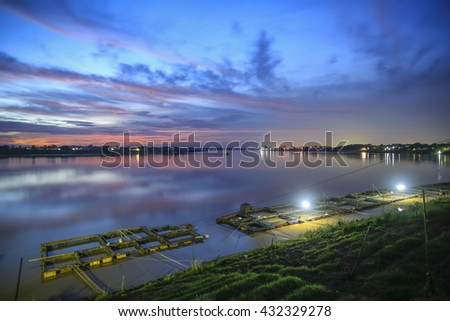 Light Twilight and Fish farming