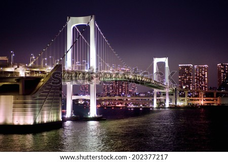 Light-Up Of Rainbow Bridge
