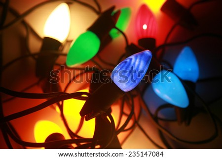 Antique Christmas Lights Stock Images, Royalty-Free Images ...