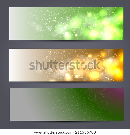 Light wave - stock photo