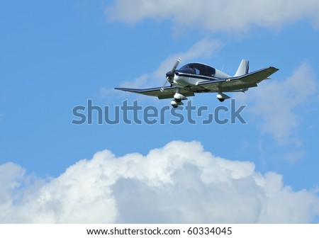 light wood frame 4 seater aircraft. The Pierre Robin Major with cranked wing configuration