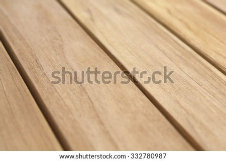 light wood panels.