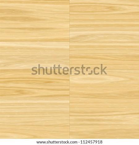 Light wood texture, seamless pattern - stock photo
